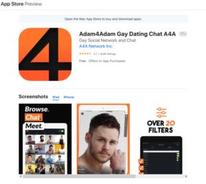 adam4adam rating by app store