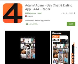 adam4adam rating by google play