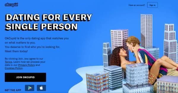 OkCupid sign up